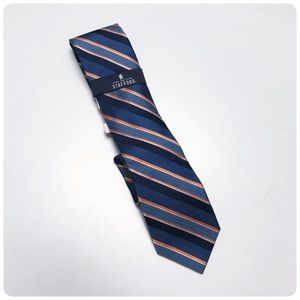 New NWT Stanford striped tie